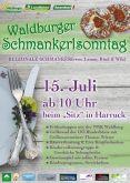 Waldburger Schmankerlsonntag - PROGRAMM